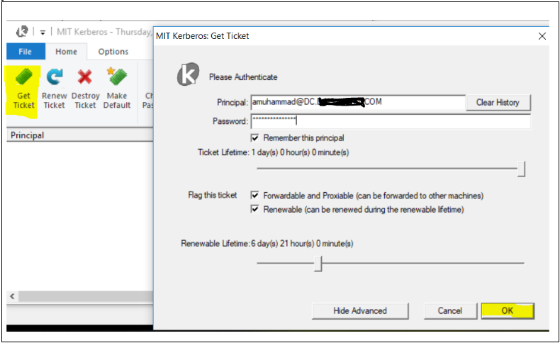 DBeaver connection with Secured Hiveserver2(Kerberos and SSL enabled
